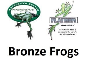 Bronze Frogs Authorised Dealer and Platinum Gallery