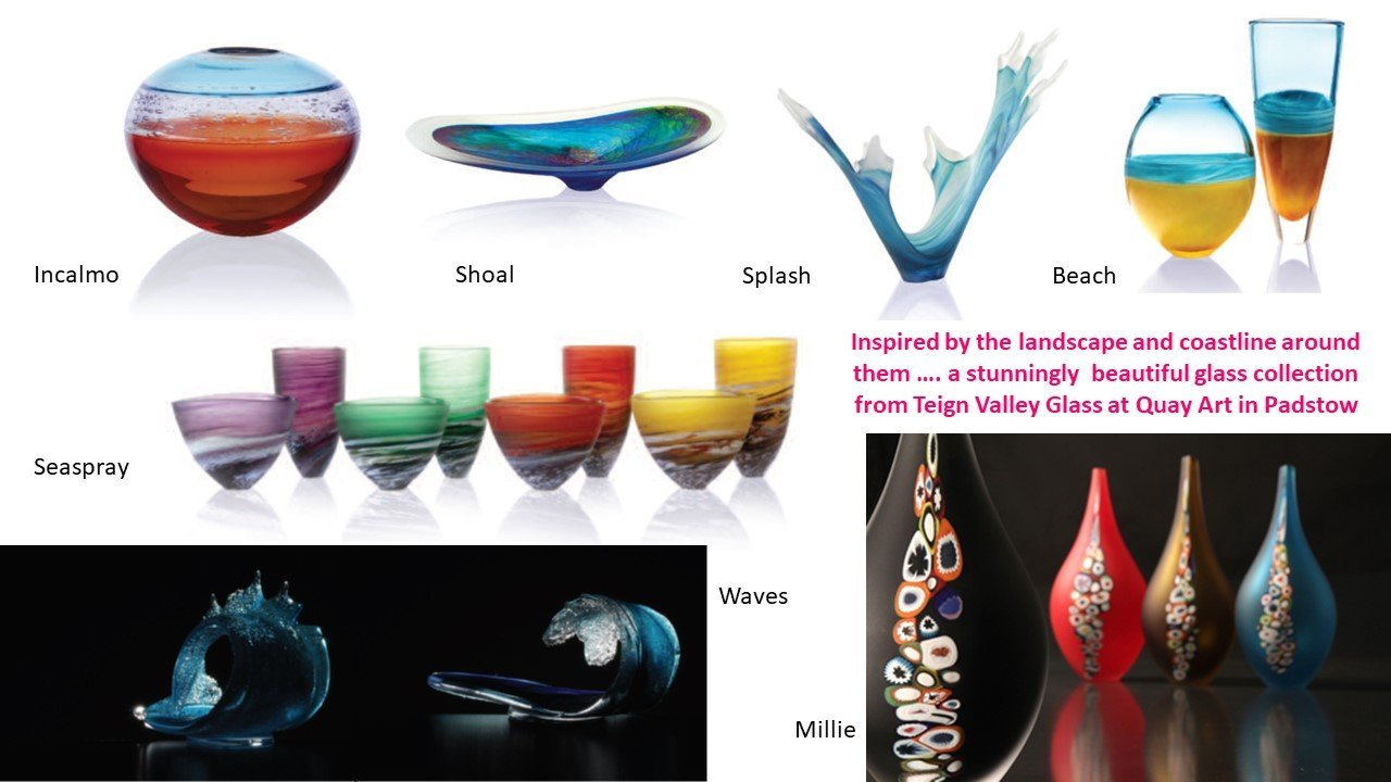 Stylish glass art from Teign Valley Glass