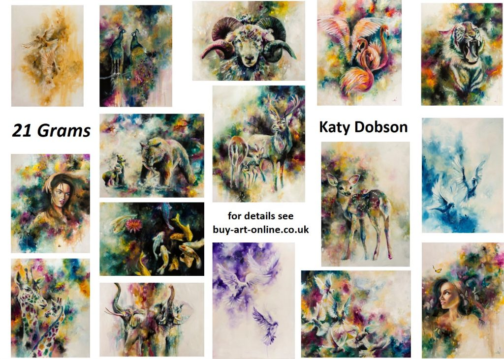 Limited edition collection by Katy Dobson