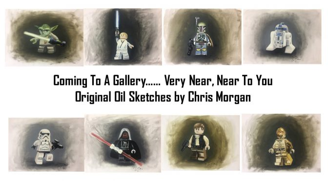 Star Wars Oil Sketches