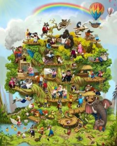 The Life Tree is a picture of the journey of the life