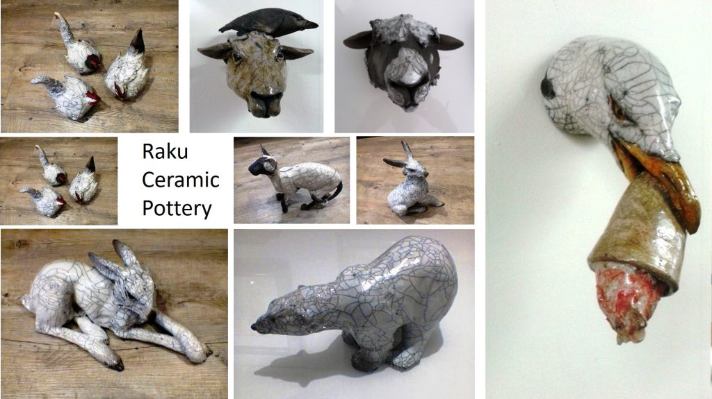 Raku ceramic from Richard Ballantyne