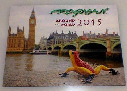 Free 2015 Calendar with all Frogs Purchased  before 31 Jan
