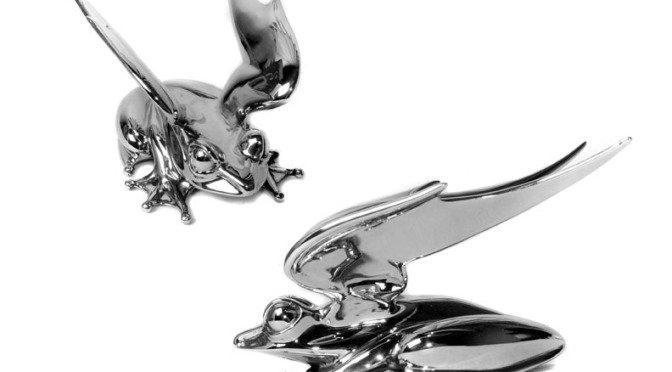 R3 – A Stainless Steel Frog with Wings !