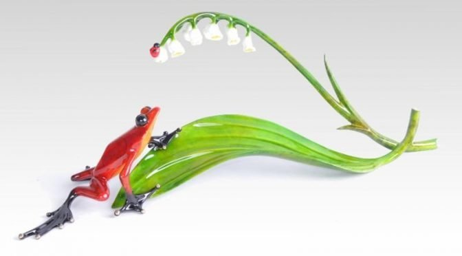 Lily in the Valley – The latest flower sculpture from Tim Cotterill