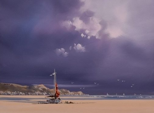 Original Seascape from Allan Morgan