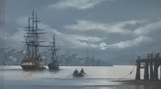 Traditional Marine Art from Ken Hammond
