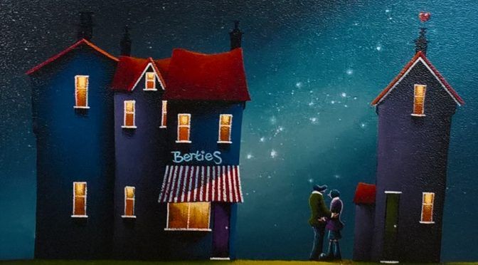 Dreamlike art from David Renshaw