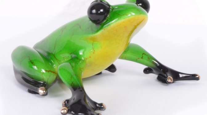 Ollie – New Bronze Frog