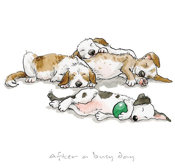After A Busy Day, Limited edition by Anita Jeram