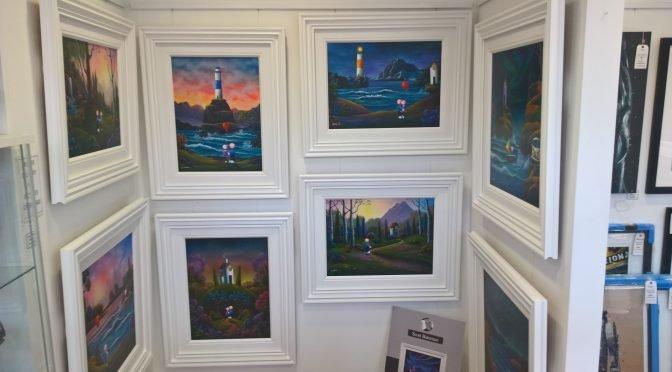 Original Paintings by Scott Bateman