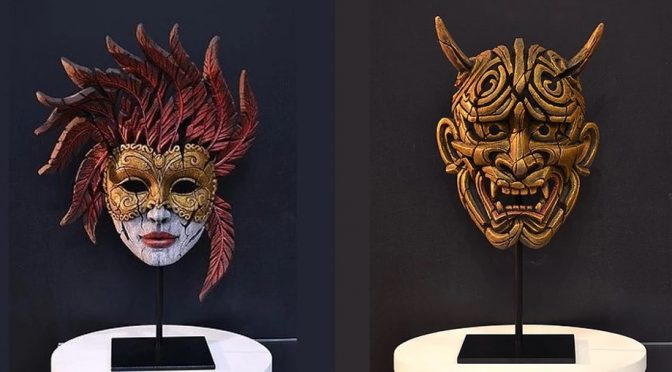 New Masks from Edge Sculpture