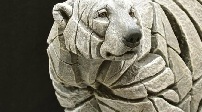 New from Edge Sculpture – Polar Bear, Robin and a Sloth !