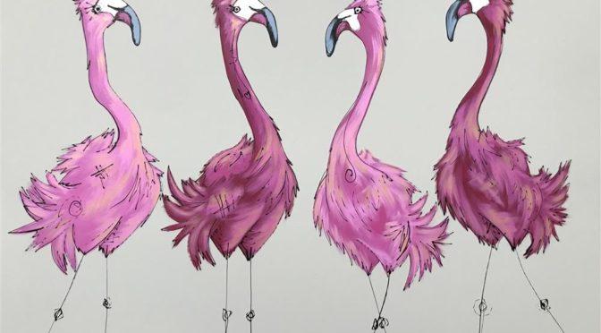 Pink Flamingos !