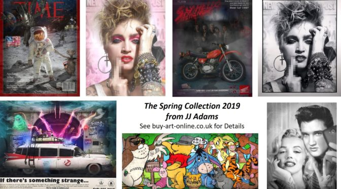 The Spring Collection 2019 from JJ ADAMS