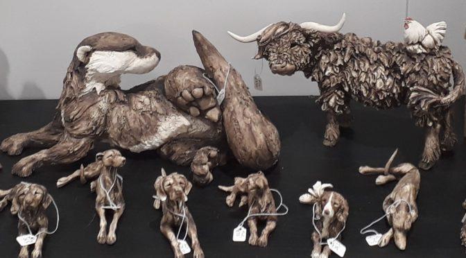 Stunning ORIGINAL Wildlife Sculptures