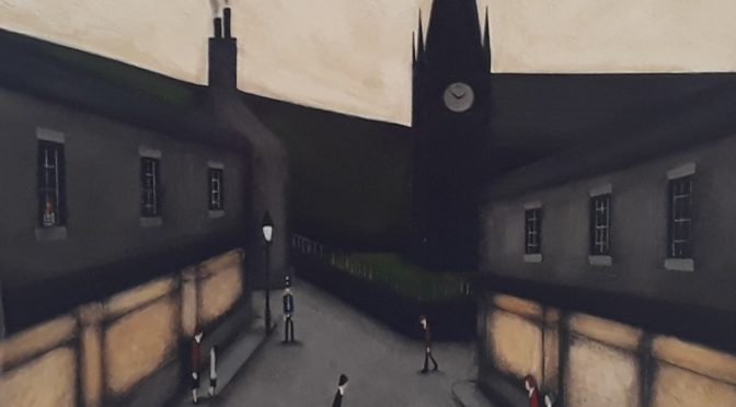 LS Lowry Style Paintings