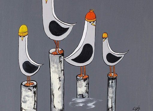 Seagulls !