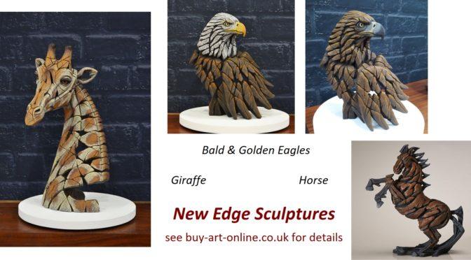 Giraffe, Horse and Eagles !